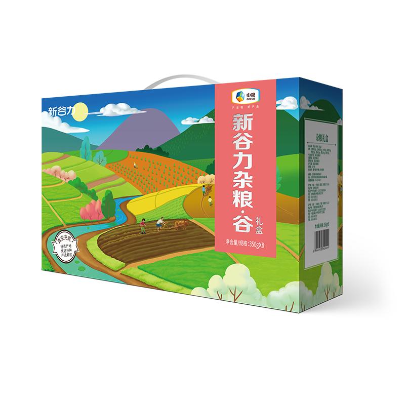 中粮新谷力杂粮*谷礼盒2800g