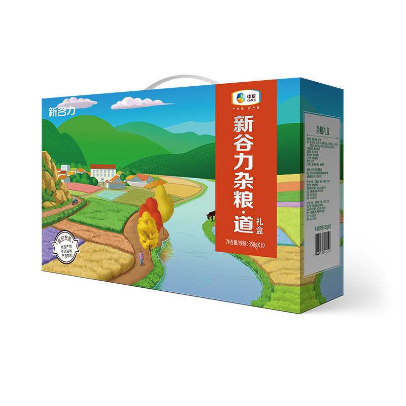 中粮新谷力杂粮*道礼盒3500g