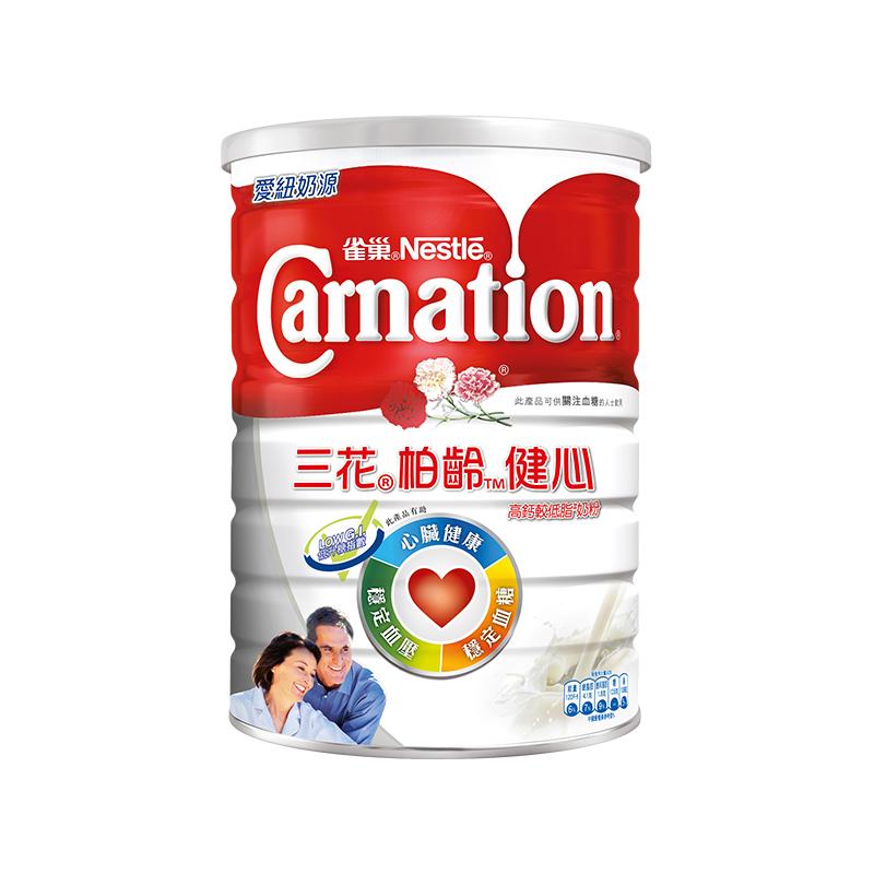 雀巢三花®栢龄™健心高钙较低脂奶粉 1.7kg
