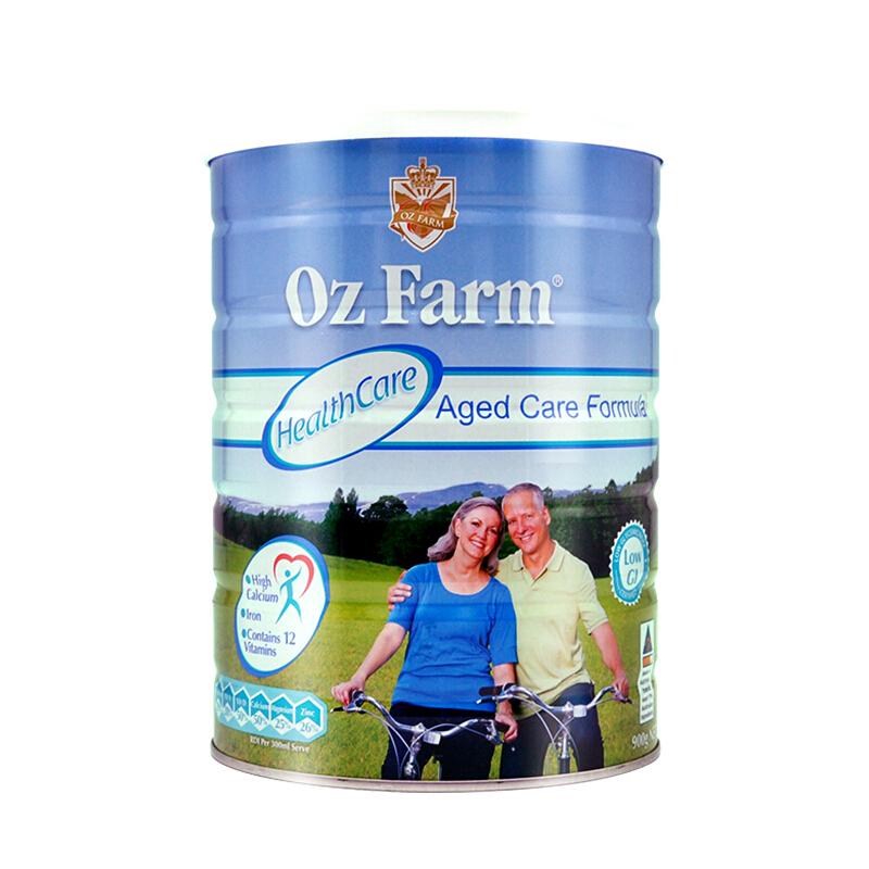 【澳洲直邮】澳大利亚澳美滋Oz Farm 中老年高钙配方奶粉 900g