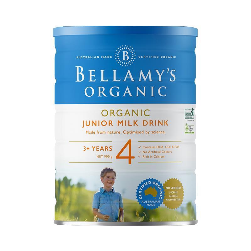 【澳洲直邮】澳洲贝拉米4段有机奶粉900g
