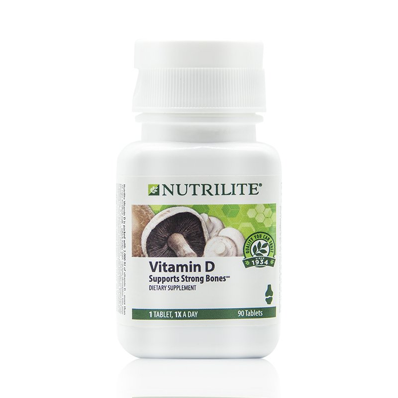 美版 NUTRILITE安利纽崔莱 维生素D3强骨素 孕妇青少年老人补钙 钙片 90粒/瓶