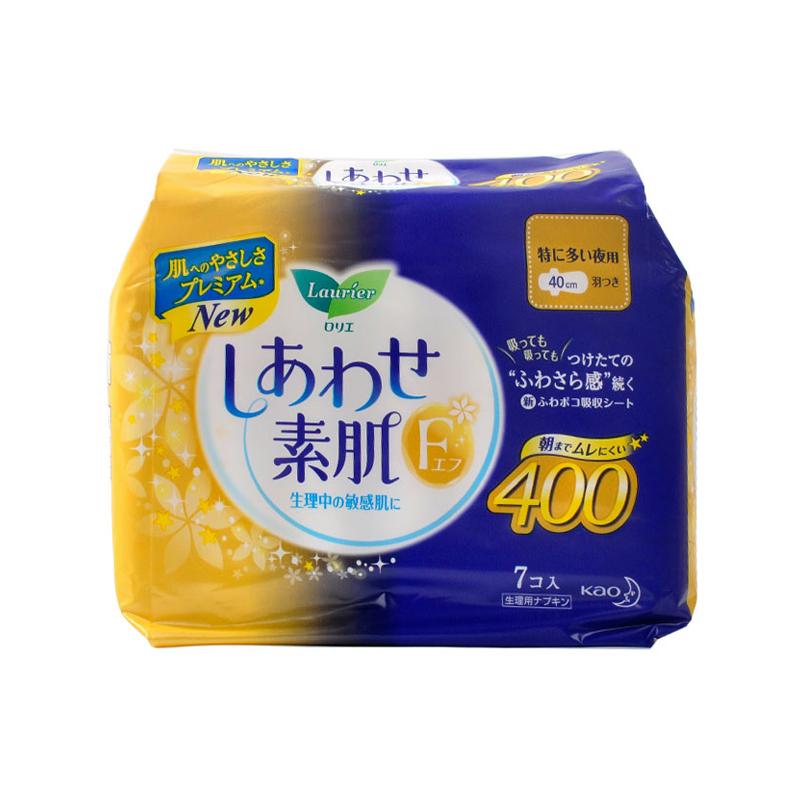 日本花王卫生巾 F系列柔软夜用卫生巾40CM*7片