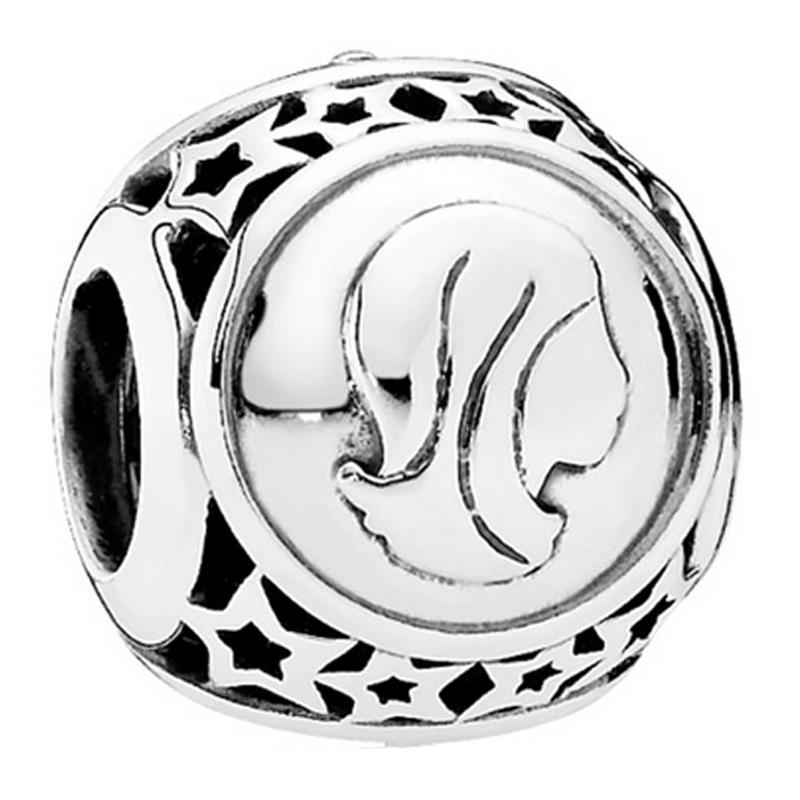 PANDORA 潘多拉 925银银色处女星座串珠 791941